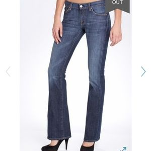 7 For All Mankind Stretch Flare Jeans